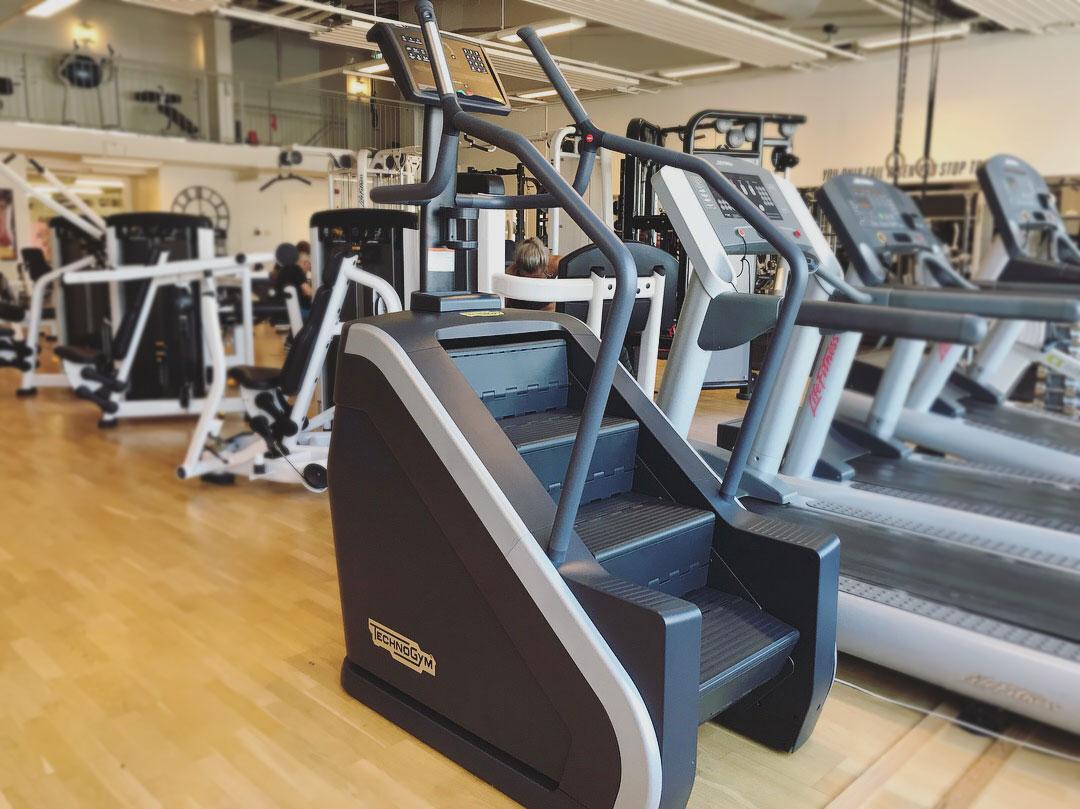 Efterl ngtad trappmaskin och andra nyheter till forma for Gimnasio gym forma