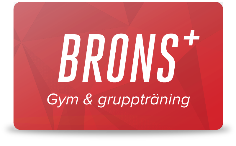 Brons+ - Gym & gruppträning