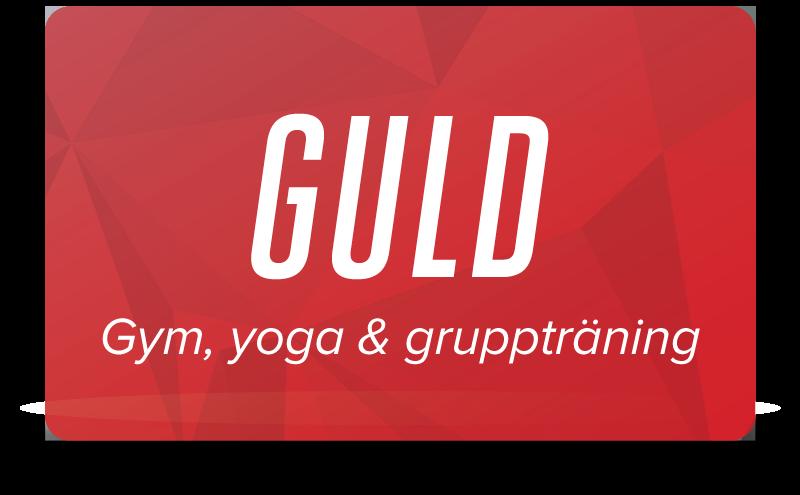 Guld - Gym, yoga & gruppträning